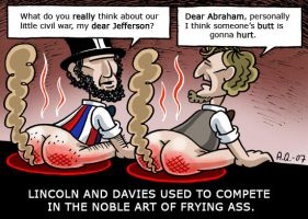 Lincoln and Davies by Quasi77