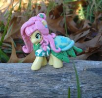 Customized Model Fluttershy Blind Bag by stariearth