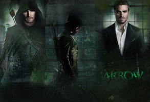 Arrow Wallpaper by Vampiric-Time-Lord