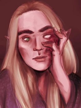 Thranduil by toffee-owl