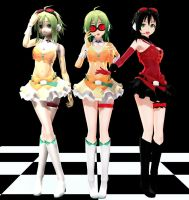 Mamama Gumi TK Version MMD download by Reon046