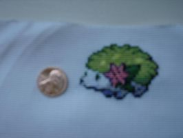 Shaymin Land Forme CrossStitch by Schrimpyoctopus
