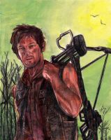 Daryl Dixon - The Walking Dead by smjblessing