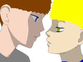 Beavis and butthead yaoi by ShadowsLOVER2000