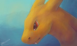 Colors 3d - Charizard by Penny-Dragon