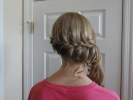 Prom hair by EpicTwizzy