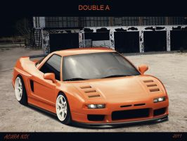 Acura NSX by doubleart