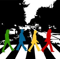 Abbey Road: Color to your life by lichtstadt