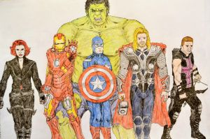 Avengers by diduseevc