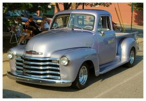 A Cool Silver Chevy Truck by TheMan268