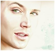 green eyes by LiLen