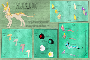 Cheallux Species Sheet || SOLD !! by CraftenMC