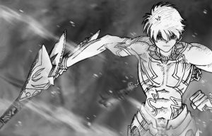 Fate Hollow Ataraxia,Gilgamesh by Darkdam