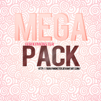 MEGA PACK By: GurayMonster by GurayMonster