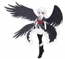 S.G.C.C. PREVIEW: Aura, Angel of Darkness by PokeDigiSonic-PDS