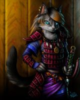 The Cat in Armor by richardAH