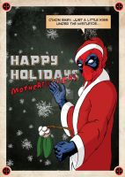 A Deadpool Christmas by Red-Eye-Designs