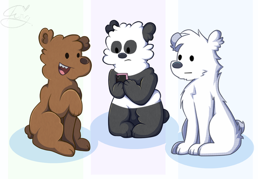 The Bears by tctwig