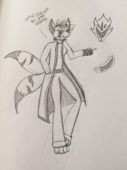 Megera the demon vixen(undertale oc) by budderninjaMC