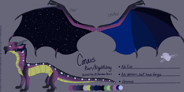 Corvus : Fixed by Milo-On-The-Moon