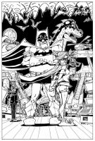 Batman and Robin by MichaelOdomArt