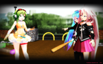 MMD My Big Sister Is A Zombie! by Trackdancer