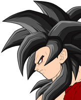 Goku SSJ4 2nd preview by drozdoo