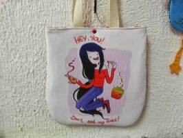 Handmade Adventure Time Marceline Tote Bag by RbitencourtUSA