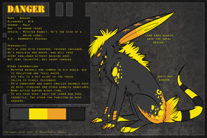 Danger reference sheet v.2 by pandalecko