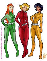 Totally Spies by Inspector97