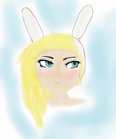 fionna sketch by I-Love-marshall-lee