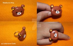 Rilakkuma Ring by lkcrafts