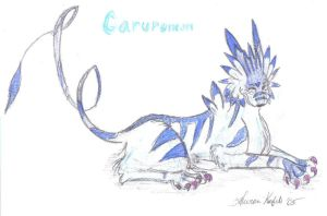 Garurumon by WolfLover93