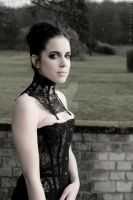 See through corset by AtelierSylpheCorsets