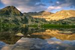 Sunset in Retezat Mountains by rott-man