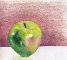 Green Apple by AdanMGarcia