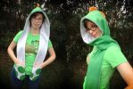 Yoshi Inspired Scoodie by Monostache