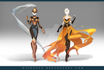 (CLOSED) Adoptable Outfit Auction 153-154 by Risoluce