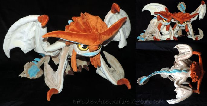 [PLUSH] Cloudjumper v 1.1 (wired wings) by ShiroTheWhiteWolf