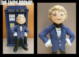 Clay Third Doctor by vandonovan