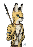 Serval Hunter by TitusW