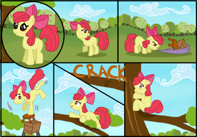 Apple Tree by WhiteEyedCat