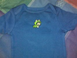 Mario - Cross-stich Onesie by Craftigurumi