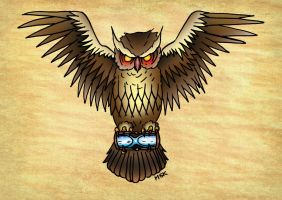 Owl and the hour glass Complete by Psychoead