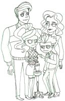 Hamdon Family by hanahin