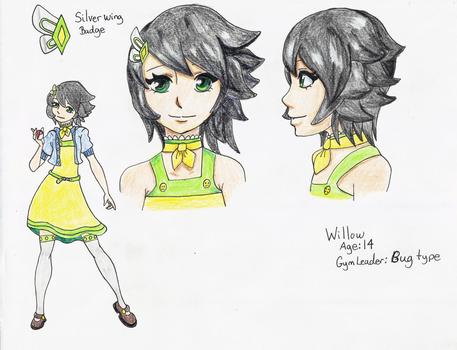 Gym Leader Willow by PandaArtSpresso