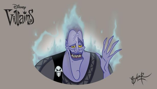 Disney villains - Hades by EduardoSQ