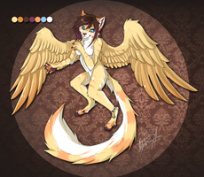 Winged cat auction by lmprison
