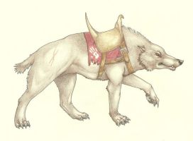 Warg types 1: The Field Warg by wspa