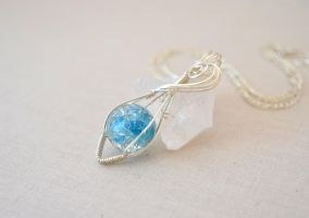 Shard of Ice by BlackBlossomJewelry